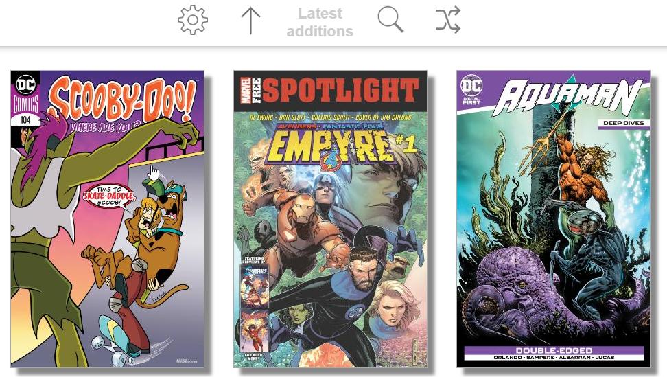 Ubooquity Comics