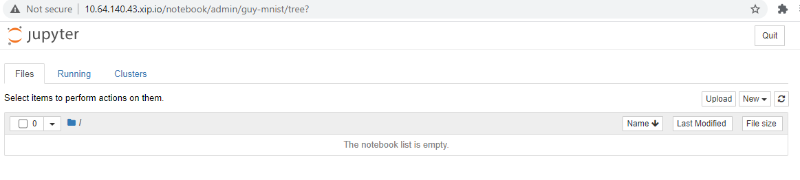 Notebook Opened